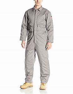 Walls Men's Flame Resistant Insulated Coverall, Gray