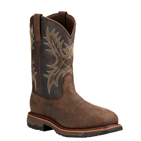 Men's Ariat Boots Workhog Waterproof  Pullon 10017420
