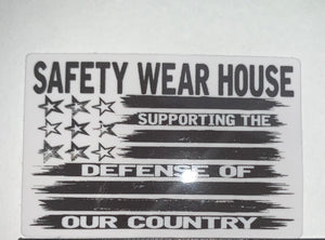 Hard Hat Sticker