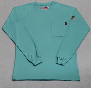 Blue Collar FR T-Shirt - Aqua Sky
