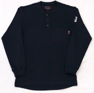 Blue Collar FR Henley - Navy