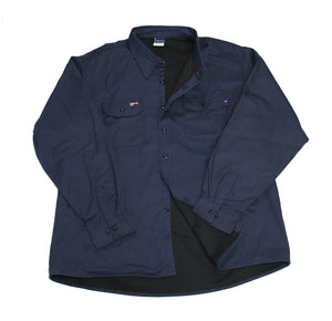 LAPCO SINV7 FR INSULATED BUTTON SHIRT NAVY