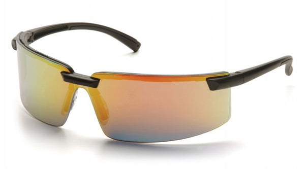 Pyramex Surveyor Safety Glasses - Ice Orange Mirror