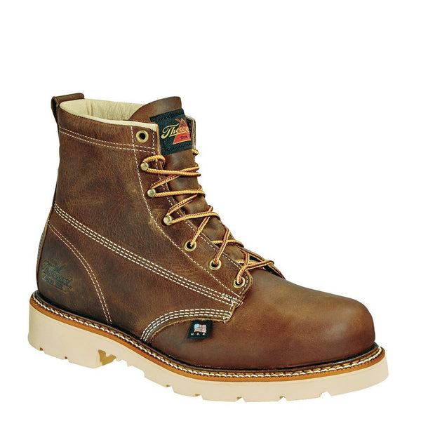 "Thorogood American Heritage Job Pro 6"" Plain Toe Safety Toe Boots"