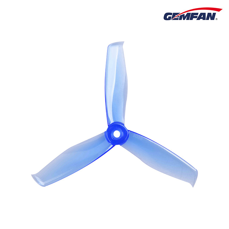 "Gemfan Hulkie 5055S Durable 5"" 3 Blade Propeller (set of 4)"