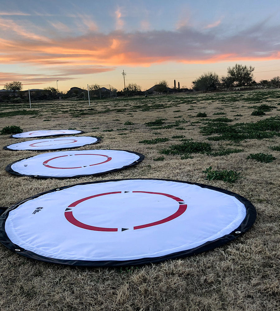Drone Launch Pad for Drone Photography With Built-in LED Lights