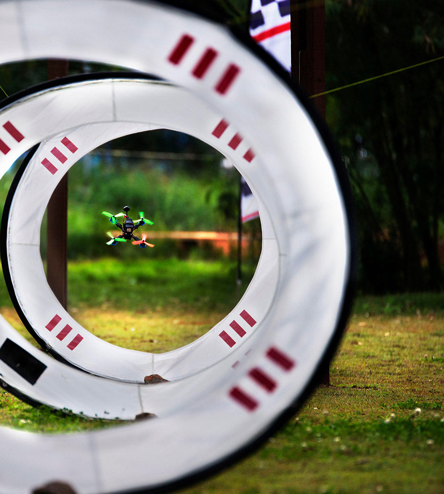Drone Racing Hoop Gate, drone racing gate, airgate, fpv racing gate, drone keyhole gate