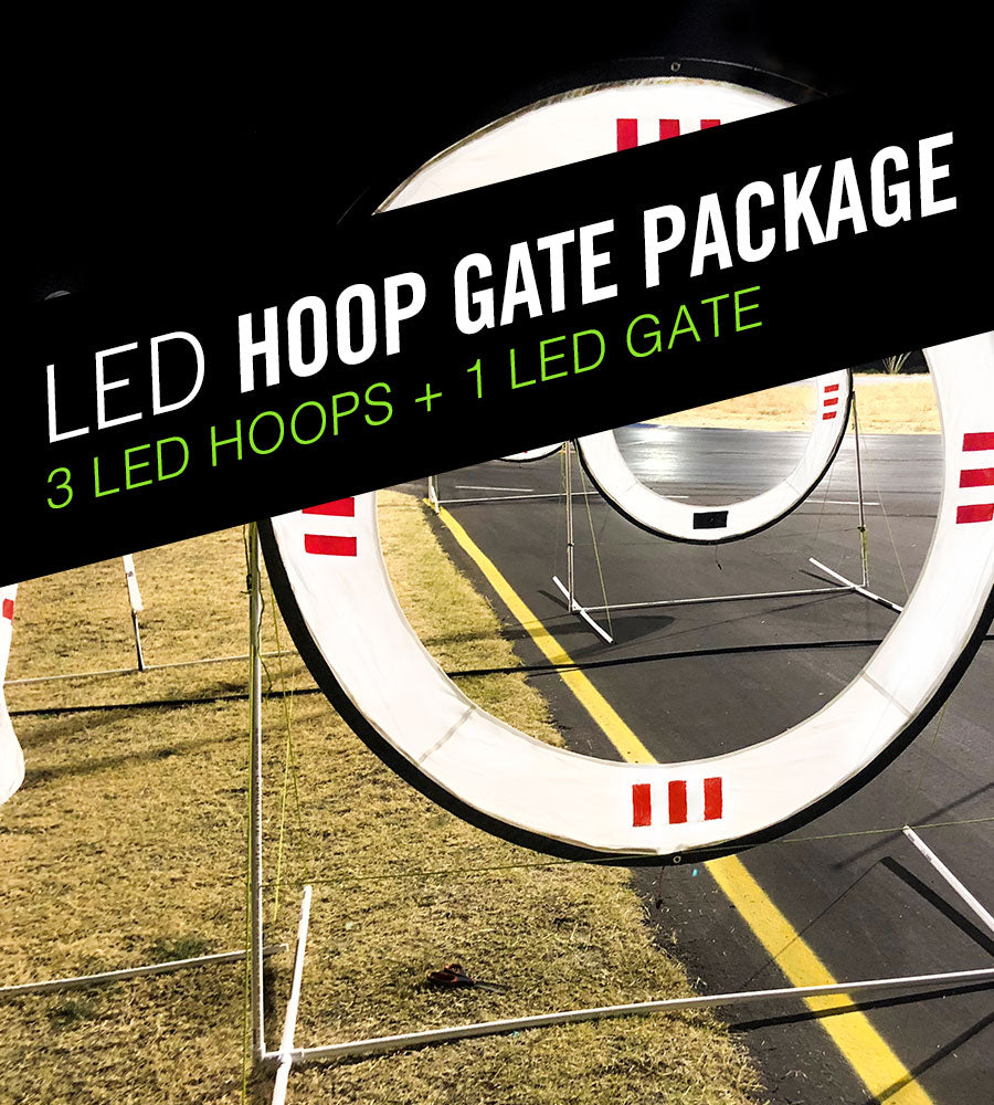 LED FPV Racing Hoop Gate Pack  - Drone Racing Hoop Gates