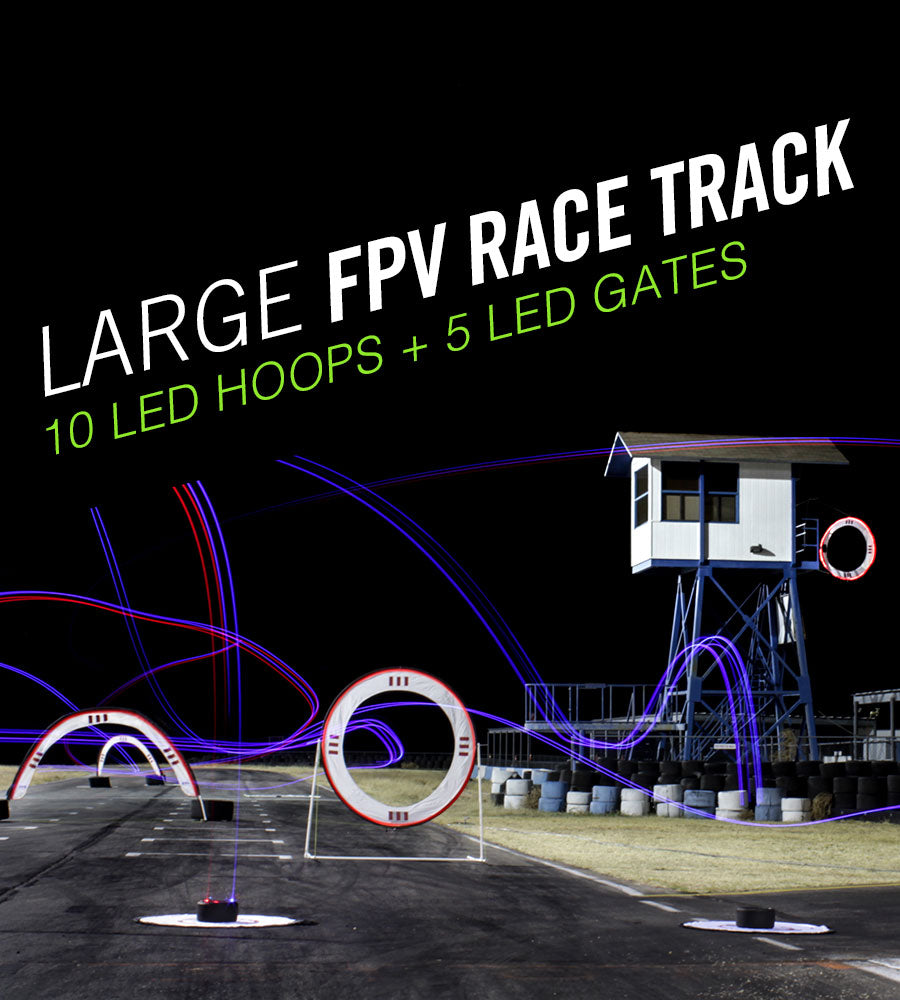 Large FPV Race Track Kit - Drone Racing Gates and Drone Racing Hoops