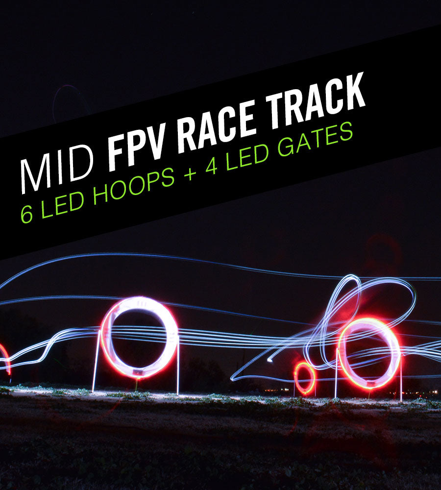 Mid FPV Drone Race Track Kit - Drone Racing Gates and Drone Racing Hoops