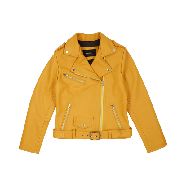 Mustard Leather Jacket