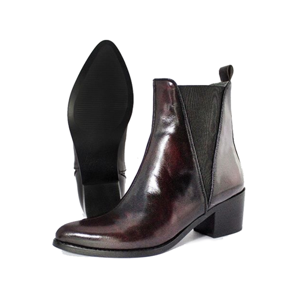 Chelsea Boot Red Camaleón