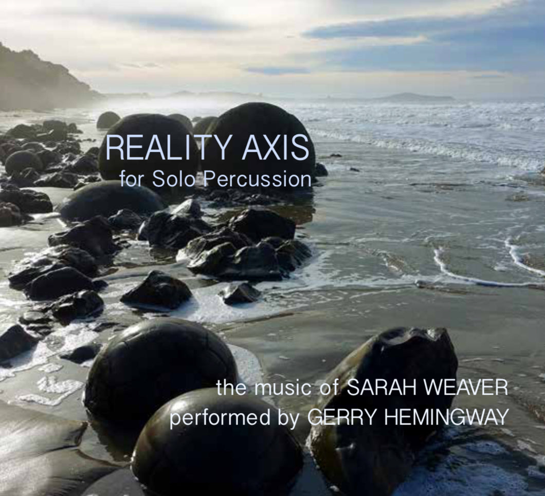 """Reality Axis"" Gerry Hemingway and Sarah Weaver: Compact Disc (CD)"