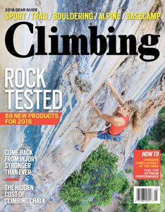 Talk of the Crag: The hidden environmental cost of climbing chalk.