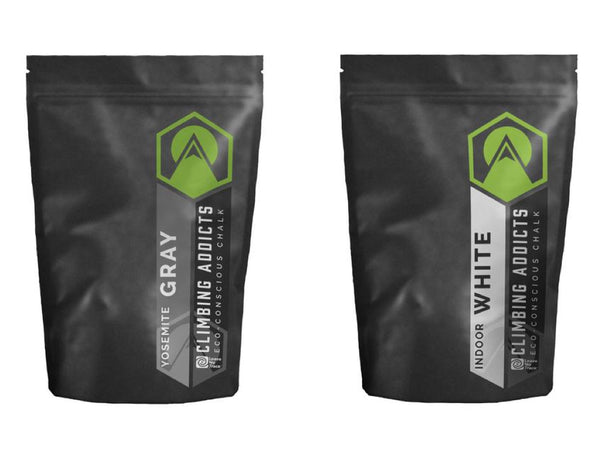 2 Pack Bundle - Gray | White Climbing Chalk