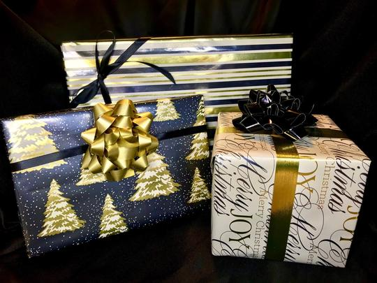 Gift Wrap Option- Select this option once to apply to entire order