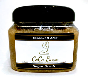 Coconut and Aloe Sugar Scrub
