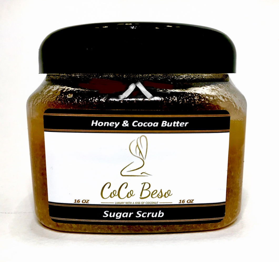 Honey & Cocoa Butter Sugar Scrub