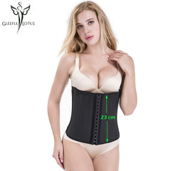 modeling strap shapewear slimming sheath belt belly strapless Body shape fitness corset bustier weight loss latex waist trainer