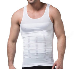 2019 slim n lift Body Shaper Mens Body Shaper Slimming Shirt Compression Vest Elastic Slim Shapewear