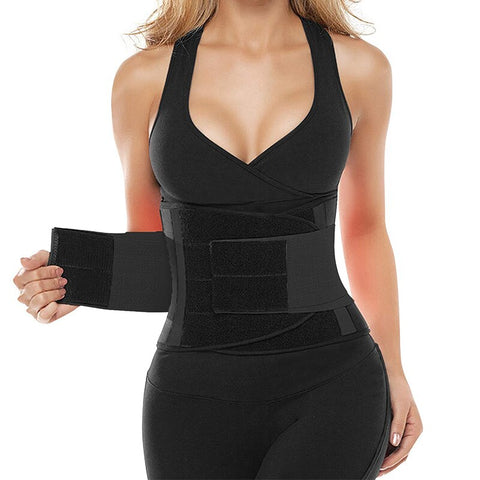 Waist Trainer Belt Body Shaper Belly Wrap Trimmer Slimmer Compression Band Weight Loss Workout Fitness Sport Girdle Shapewear