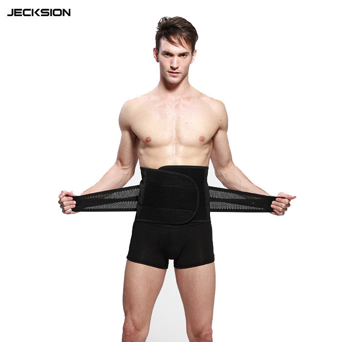 JECKSION Waist Corsets for Men 2016 New Fashion Men Belly Band Corset Waist Trainer Cincher Slim Body Shaper #LSN