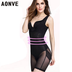 AONVE Bodysuits Seamless Full Body Waist Trainer Girdle Slimming Underwear Butt Lifter Shapers Shapewear Corset Corrective Fajas
