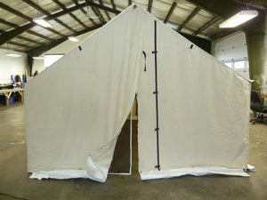 Wall Tent Rolled Out Today