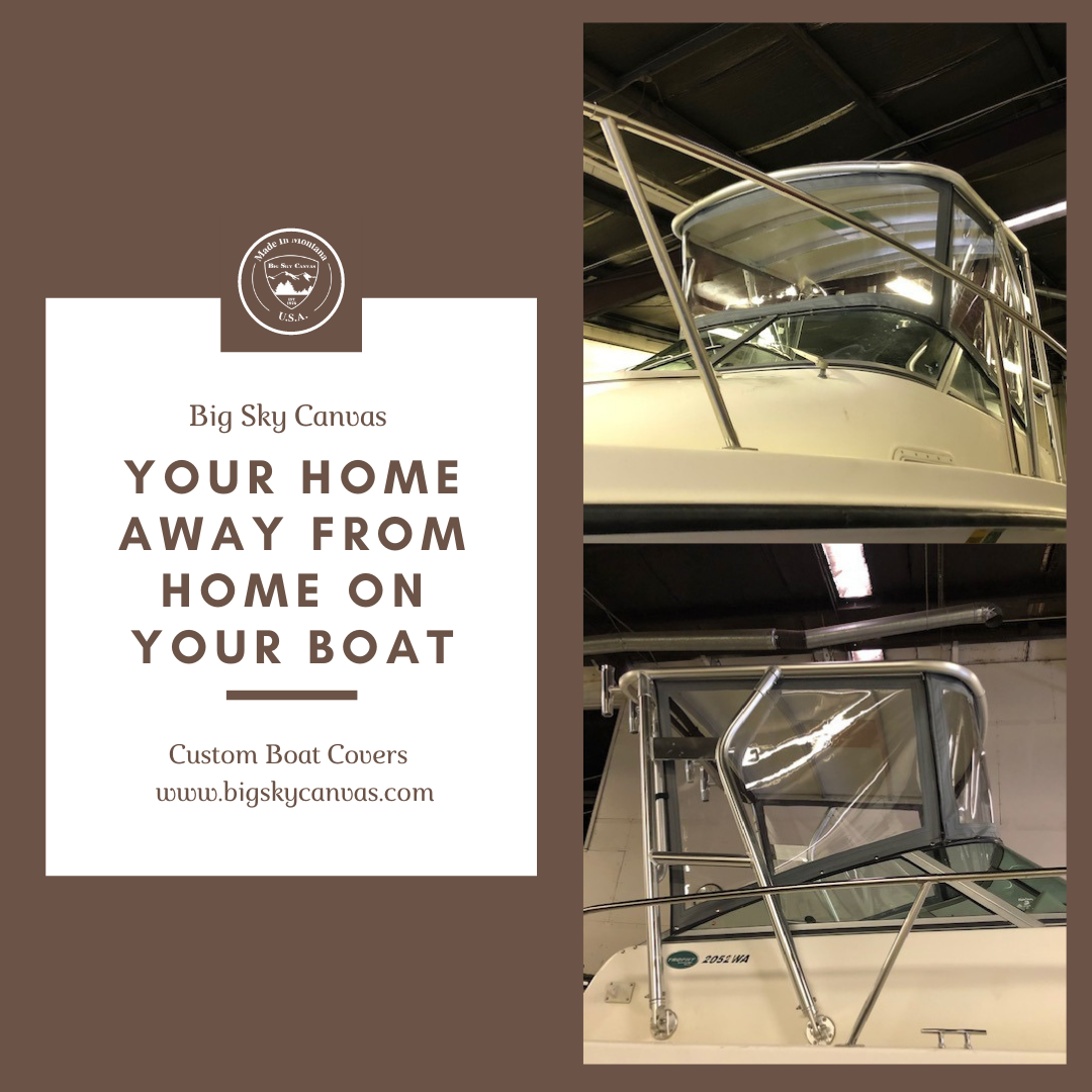 Boat Enclosure - Custom Boat Enclosure