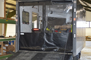 Snowmobile and ATV Trailer Enclosures For Warmth