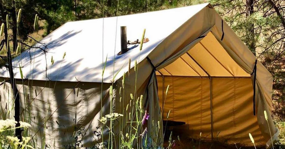 Caring For Your Big Sky Canvas Wall Tent.