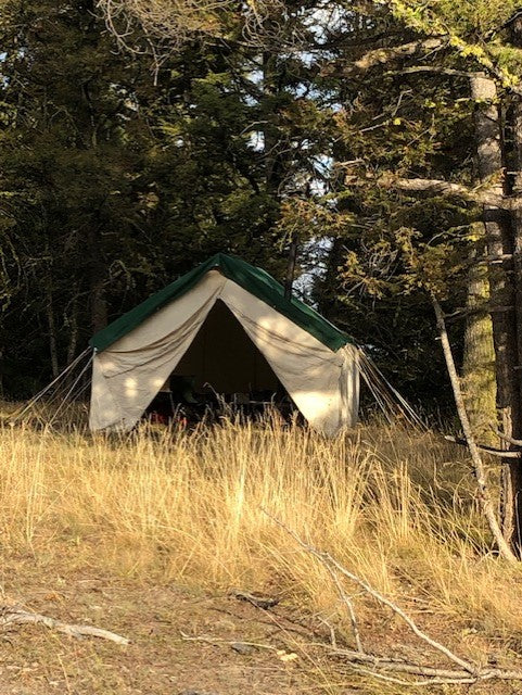 Canvas Tent Setup Guide