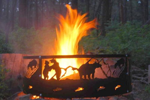 BEAR FIRE RING