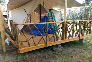 Canvas Tent - Wall Tent - Canvas Tents - Wall Tents