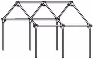 Corner Kit - Corner Kits - Canvas tent frames - wall tent frames