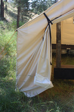 Canvas Tent Door - Screen Door - Wall Tent Door  - Canvas Camping Tent