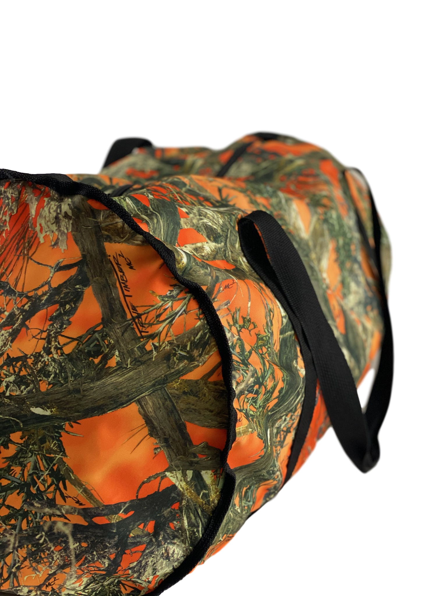 camo hunting bag - orange camo hunting bag