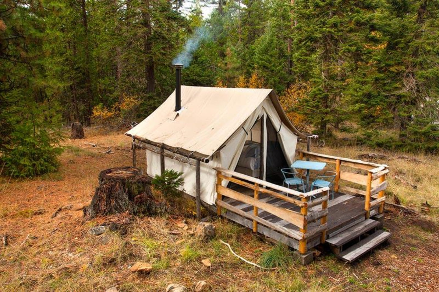 Glamping Tent - Luxury Glamping Tent - Canvas Tent - Wall Tent