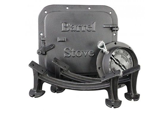 BARREL STOVE KIT