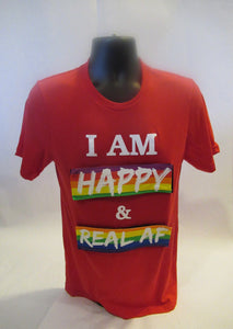 Red Unisex Interchangeable I AM T-Shirt