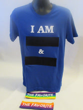 Blue Unisex Interchangeable I AM T-Shirt