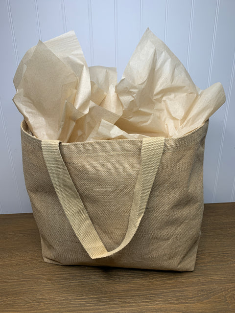 Jute Tote Bag (medium)