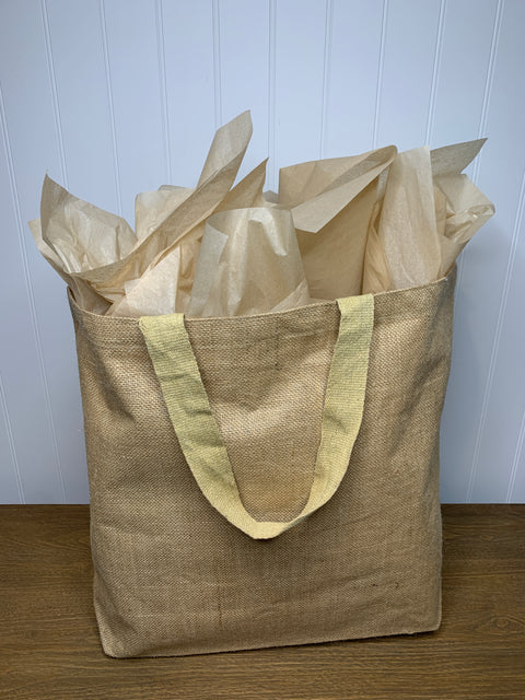 Jute Tote Bag (large)