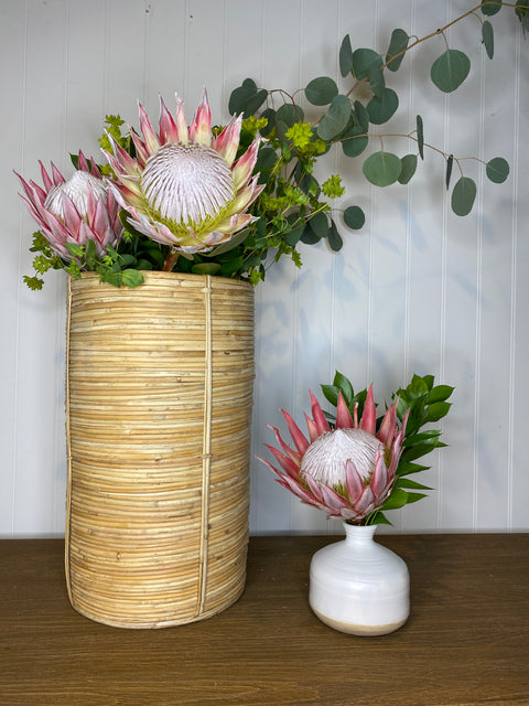Ceramic Bud Vase, Two Sizes