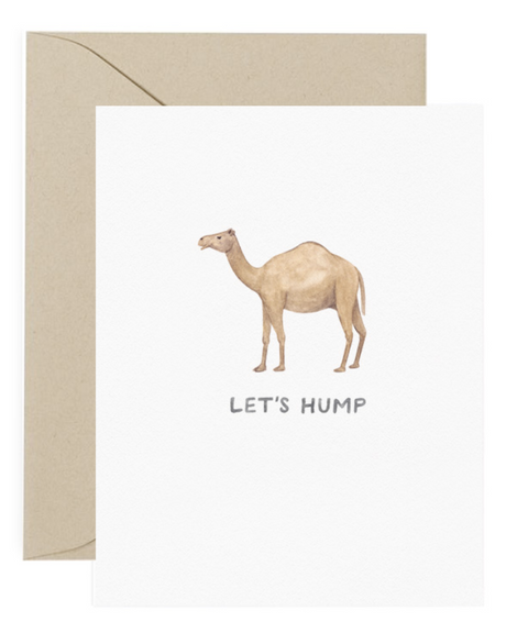 Let's Hump Love Card