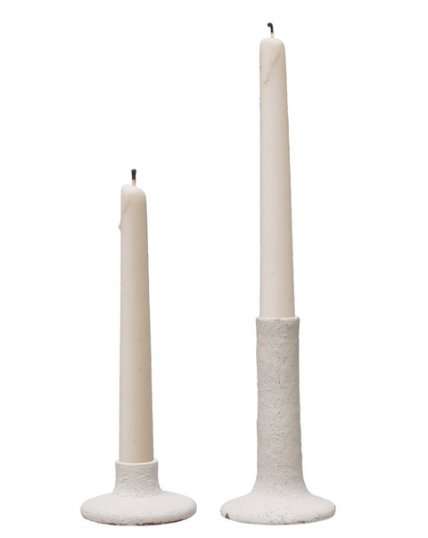Terra Cotta Taper Candle Holder, 2 Sizes