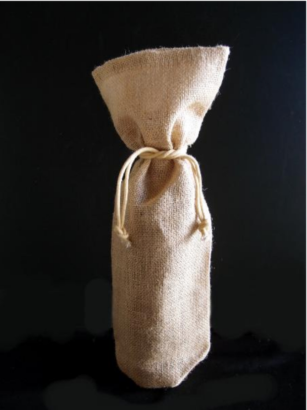 Jute Wine Bag, 3 colors