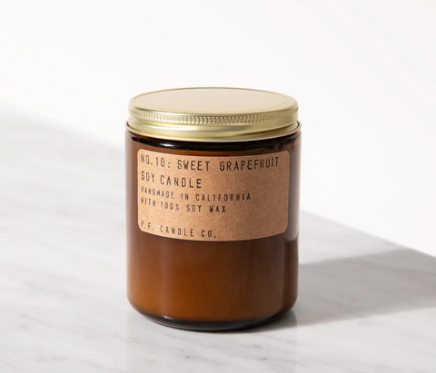 Sweet Grapefruit & Soy Candle