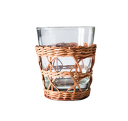Rattan Cage Wide Tumbler