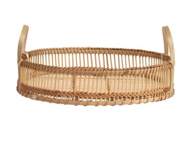 Dhalia Bamboo Tray, Two Sizes